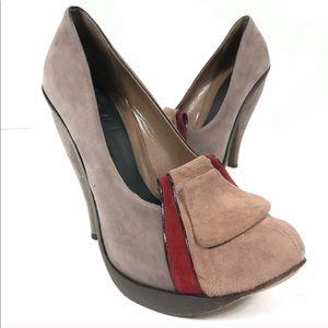 Marni suede heels